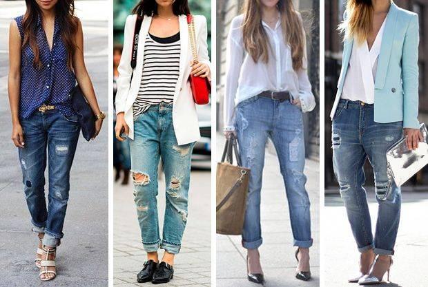 Trend Boyfriend Jeans - ست کردن شلوار مام استایل با کفش و لباس به چه صورت است؟