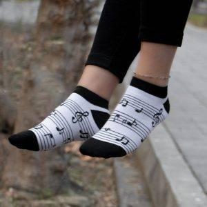 جوراب مچی طرح نت
