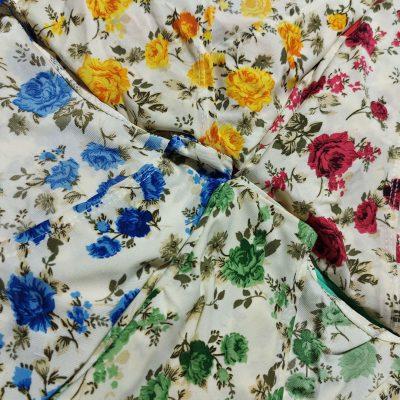1 8 400x400 - تیشرت چپ و راستی گلدار و شلوارک