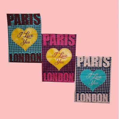 ۲۰۲۱۰۵۰۱ ۲۱۴۹۳۴ 400x400 - تیشرت سوپر قواره آستین افتاده چاپ قلب PARIS