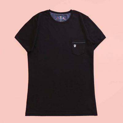 1 1 10 400x400 - تیشرت مردانه جیب دار مشکی