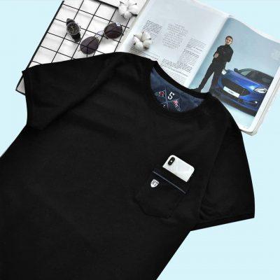 1 18 400x400 - تیشرت مردانه جیب دار مشکی