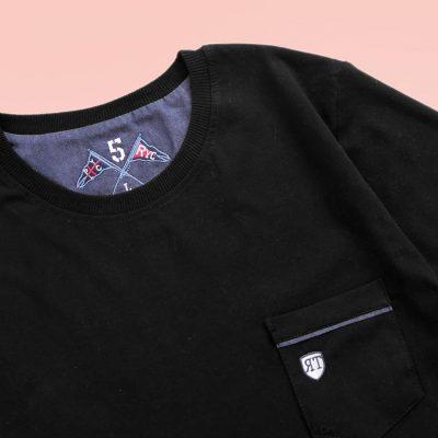 1 2 10 400x400 - تیشرت مردانه جیب دار مشکی
