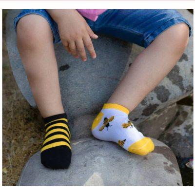1 136 1 400x400 - جوراب مچی بچگانه زنبور تا به تا